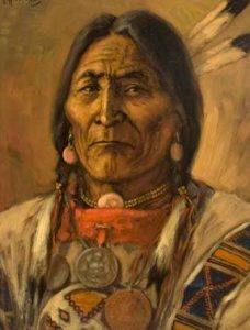 Great leader Chief Crowfoot of SikSika First Nation died of tuberculosis in 1890