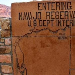 The Navajo reservation is one of the largest in the Southwest