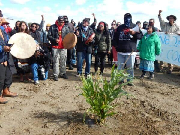 Prayers sung after corn is planted