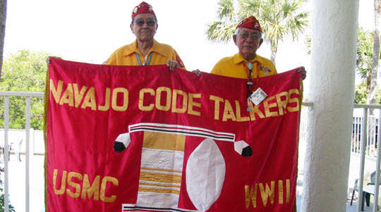 navajo codetalkers were celebrate for their ww2 contributions to US victory